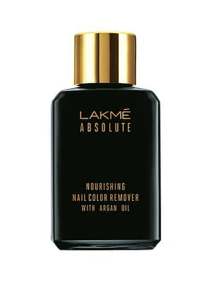 LAKMÉ ABSOLUTE NOURISHING NAIL COLOR REMOVER WITH ARGAN OIL | Neyena Beauty Cosmetics Lakme