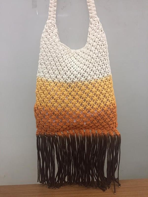 Macrame Cotton Hand Bag 100% cotton