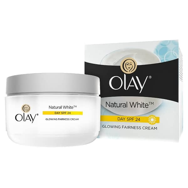 Olay Natural White 7 IN ONE Glowing Fairness Cream SPF 24 | Neyena Beauty & Cosetics