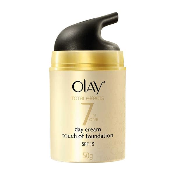 Olay Total Effects 7 IN ONE Day Cream Touch of Foundation SPF 15 | Neyena Beauty & Cosmetics
