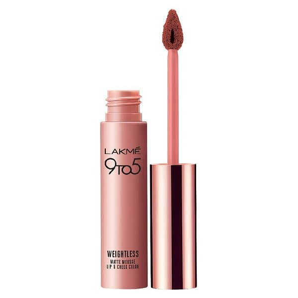 LAKMÉ 9TO5 WEIGHTLESS MOUSSE LIP AND CHEEK COLOR   Neyena Beauty Cosmetics