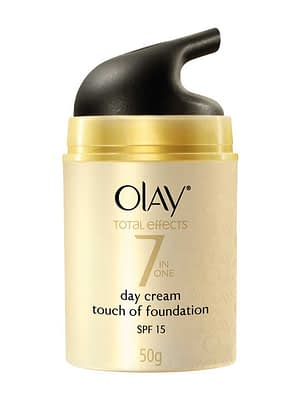 Olay Total Effects 7 IN ONE Day Cream Touch of Foundation SPF 15   Neyena Beauty & Cosmetics
