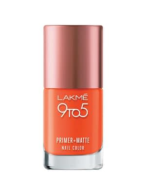 LAKMÉ 9TO5 PRIMER + MATTE NAIL COLORNeyena Beauty Cosmetics Lakme