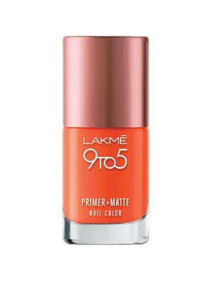 LAKMÉ 9TO5 PRIMER + MATTE NAIL COLORNeyena Beauty Cosmetics Lakme